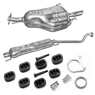 Auspuff Vorderrohr Opel Astra H 1.6i /& 1.8 Fließheck//Kombi 85-103kW Montageware