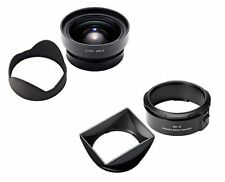 RICOH GW-3 Wide Angle Conversion Lens 21mm bundles Hood and Adapter GH-3