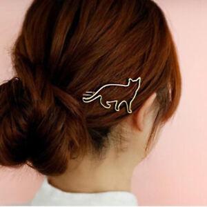 Creative-Cat-Girls-Hair-Clip-Clamp-Hairpin-Fashion-Jewelry-Hair-Accessories