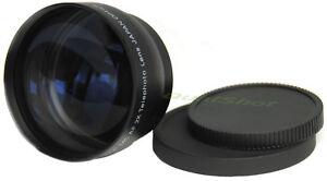 52mm-2X-TELEPHOTO-Tele-LENS-for-Nikon-Pentax-18-55mm-New