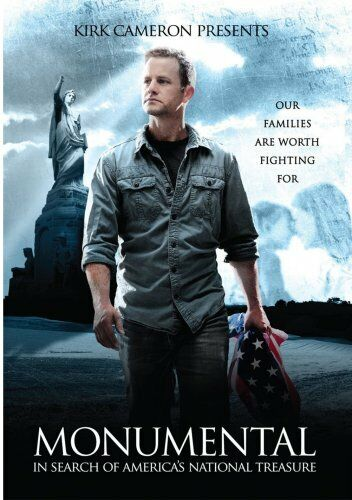 MONUMENTAL IN SEARCH OF AMERICA'S NATIONAL TREASURE New DVD Kirk Cameron