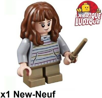 Lego Figurine Minifig Harry Potter Hermione Granger baguette hp156 75955 NEUF
