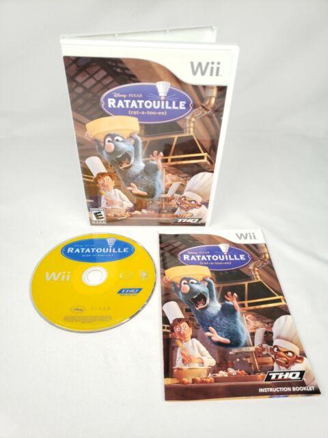 RATATOUILLE (2006) for NINTENDO Wii *COMPLETE*
