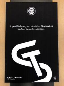 """Leinwand """"Jugendförderung & aktives Vereinsleben"""" 60x90 – STURM HILFT!"""