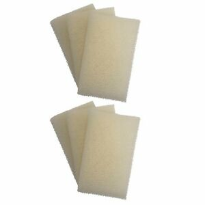 6 X Interpet Pf1 Ricambio Gommapiuma Interpet Pf Filtro Interno An Enriches And Nutrient For The Liver And Kidney Aquariums & Tanks Fish & Aquariums