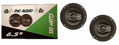 "IMC AUDIO 6.5"" 2-Way 350W Car Audio Speaker with 1 Year Warranty Pair"