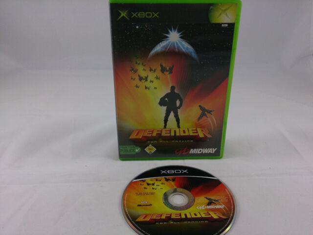 Defender Microsoft Xbox 2003 DVD Box PAL