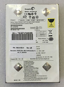 Seagate-9W1021-302-ST320014A-20GB-5400RPM-Ultra-ATA-100-40-pin-Hard-Disk-Drive