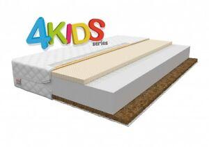 matratze kinder 70x140 bis 90x200 bauchweizen latex koko kindermatratze h2 h3 h4 ebay. Black Bedroom Furniture Sets. Home Design Ideas