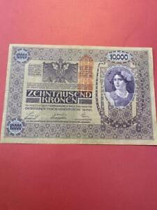 1918 Austria 10,000 Kronen #25