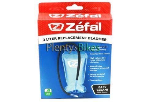 Zefal 3 Liter 3L Replacement Backpack Water Hydration Hiking Bladder Reservoir