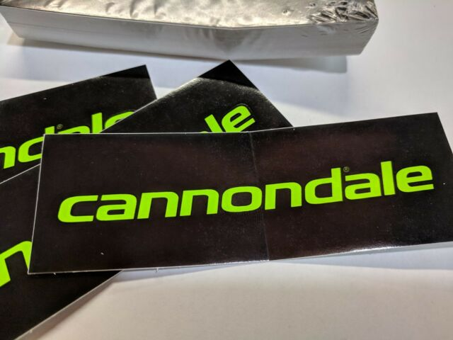 Cannondale Black Neon Green Bicycling Decal Pack Of 50