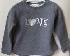 Bonpoint Sudadera Gris Bebés Niñas 3 años de amor