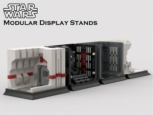 Details About Sale Lego Star Wars Moc Modular Display Pdf Instructions Only