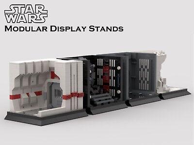 Lego Star Wars MOC Modular Display PDF Instructions Only **SALE** Series 2