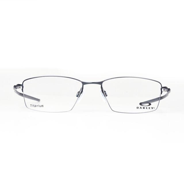 5a313d9937 Oakley 0ox5113 Lizard Semi Rim Rectangular Eyeglasses for Unisex Satin Black  56