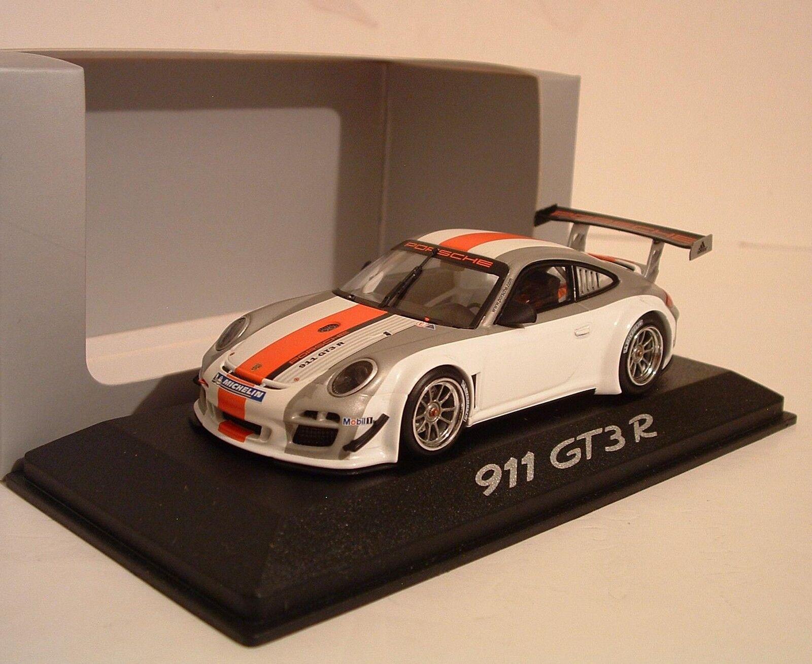 MINICHAMPS 1 43 PORSCHE 911 GT3R PROMO lancement CONCESSIONNAIRE AUTOMOBILE Edition WAP0200160B
