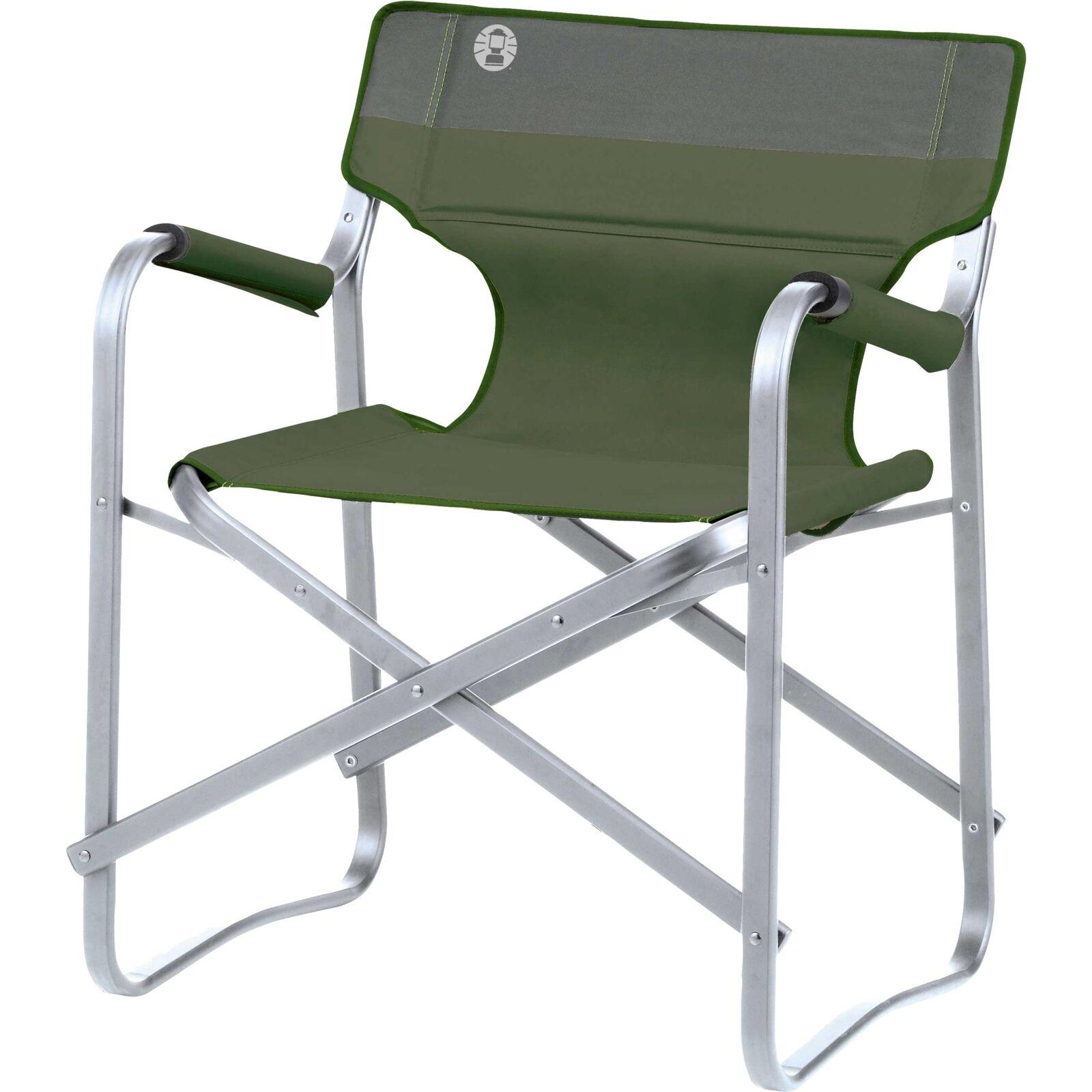 Coleman Deck Chair Stuhl grün