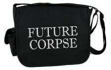 Future Corpse Death Messenger Bag Cross Body Bags Gothic Clothing Funeral Coffin