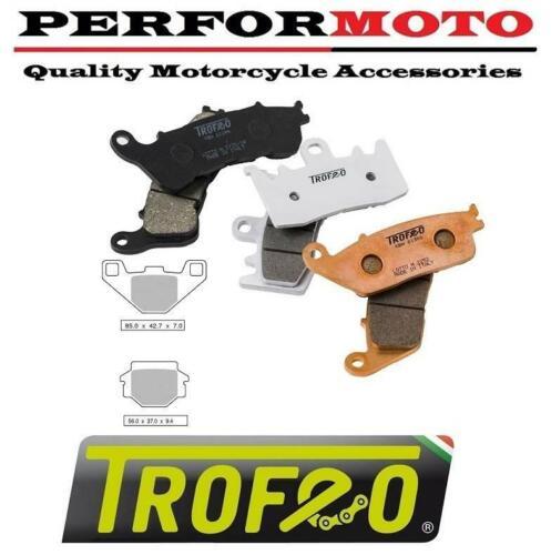Trofeo Organic Rear Brake Pads to fit Peugeot 125 Django Sport 14-15