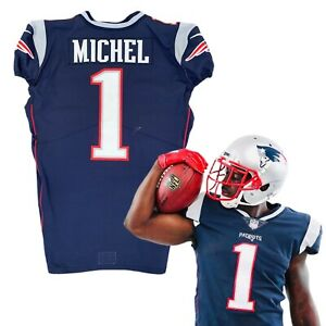 Details about Sony Michel Rookie Premiere New England Patriots NFL Jersey Like Game Used Worn