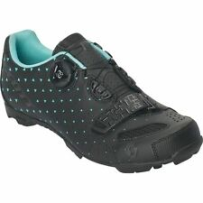 Scott Mtb Rc Shoes Matt Black//Turquoise Blue 38