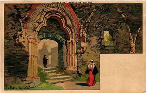 CPA-Ruines-de-l-039-Abbaye-de-Villers-La-Porte-Triloble-515997
