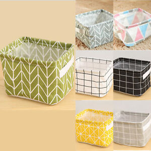 Home & Garden Travel Storage Folding Drawstring Square Storage Basket Big Capacity Toy Laundry Makeup Container Cosmetics Underwear Organizer Home Storage & Organization