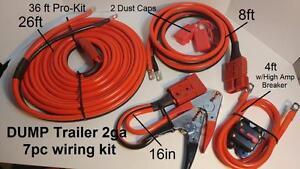 Brilliant 2Ga 36 Ft Hi Amp Universal Quick Connect Wiring Kit Dump Trailer Wiring Cloud Pimpapsuggs Outletorg