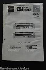 GRUNDIG Receiver R 1000 / GB & Tuner T 1000 / GB Service Manual Schaltplan