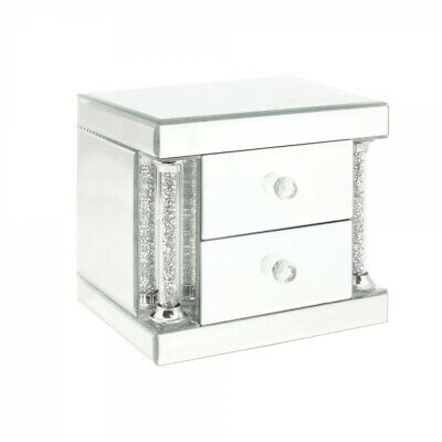 Leonardo Collection Royal Crest Mirror Jewellery Box With 2 Drawers LP28528