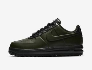 Mens Nike LUNAR FORCE 1 DUCKBOOT LOW Shoes -Sequoia -AA1125 300 -Sz ... 3df1b668c