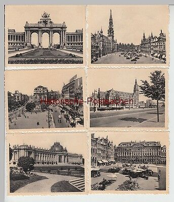 (f10700+) 10x Orig. Foto Brüssel, Bruxelles, Offizielle Fotodrucke Aus Fotomäppc 100% Garantie