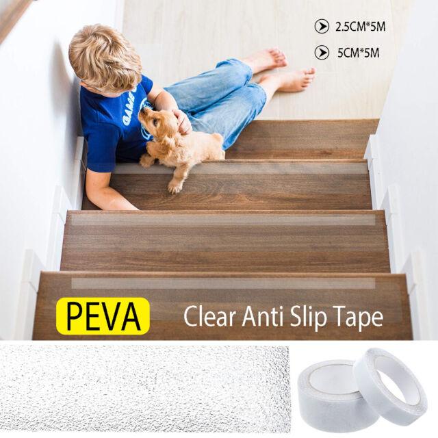 Anti Slip Tape Grip Adhesive Non Slip Bathroom Floor Steps Stair Trailer 5m