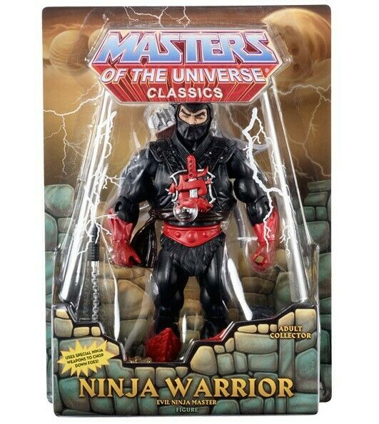 MOTUC MASTERS OF THE UNIVERSE NINJA WARRIOR February 2015   populaire