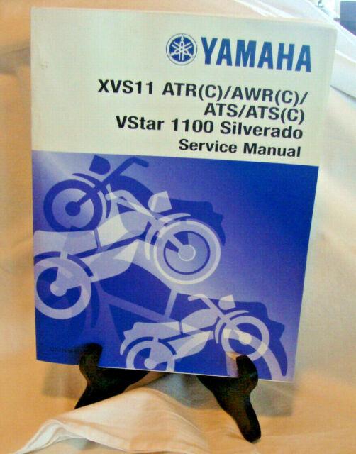 Yamaha Xvs11 Atr Vstar 1100 Silverado Service Manual