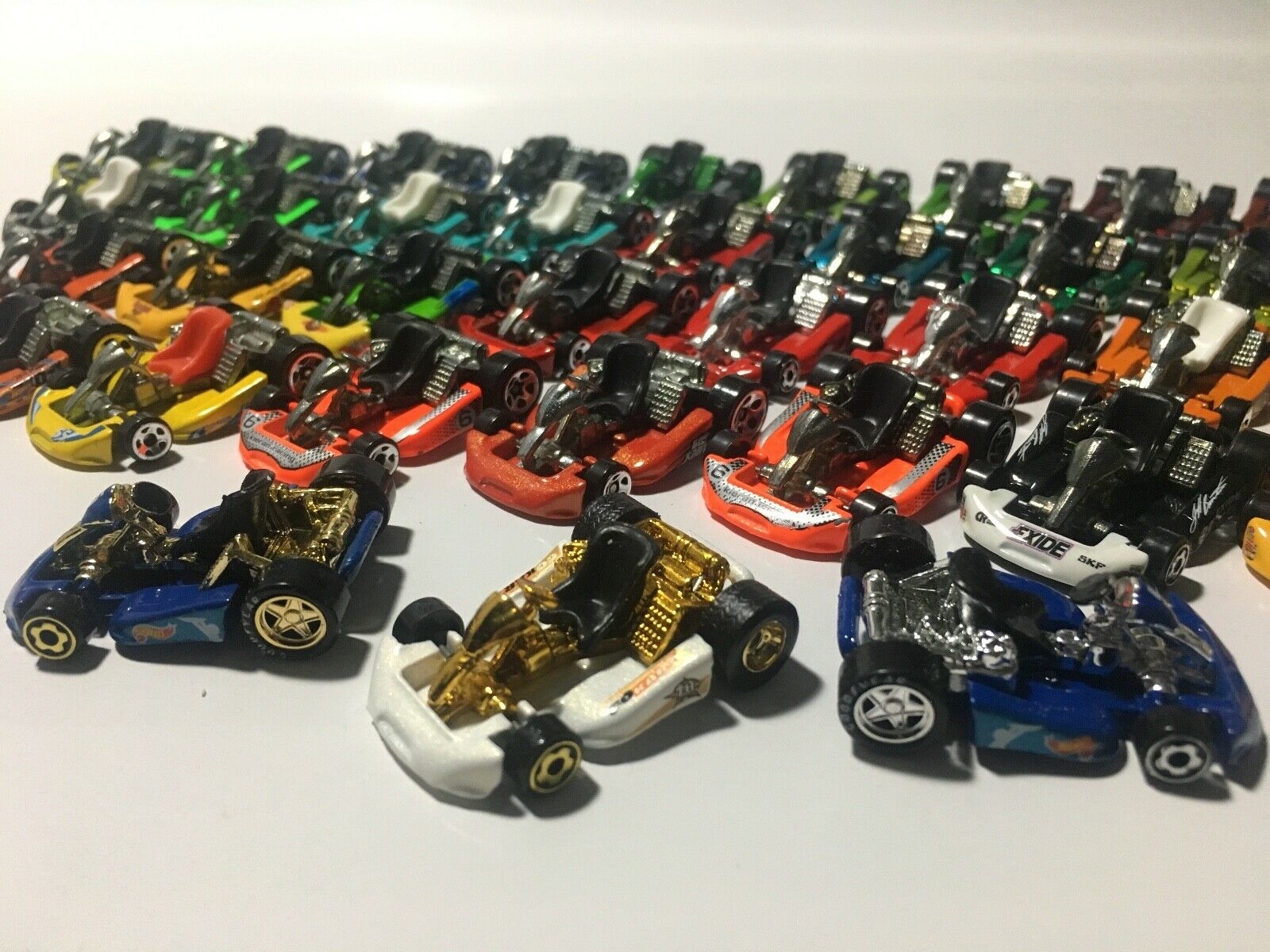 HotWheels Go Kart collection lot of 41 pieces , good to mint loose condition