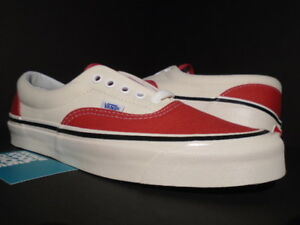7b9ef85c99 VANS ERA 95 DX ANAHEIM FACTORY RED OFF WHITE BLACK FEAR OF GOD ...