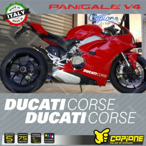 Adhesives Stickers Compatible DUCATI Panigale V4 V4s Hip DUCATI Corse