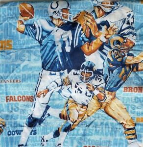 Vintage-JC-Penney-NFL-Team-Names-Football-Players-All-Over-Print-Curtains-40x60