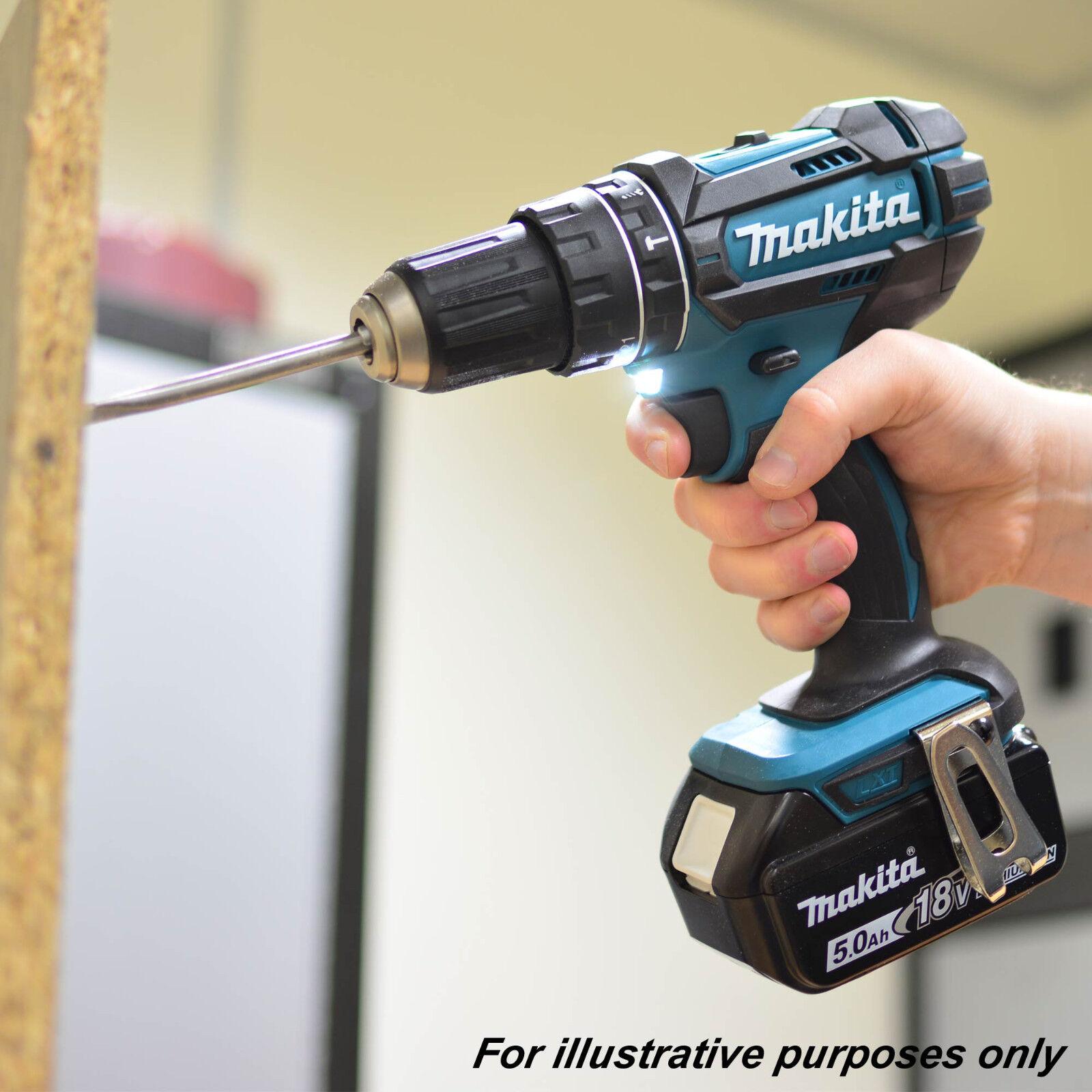 Remplace DHP456Z Makita DHP482Z 18 V LXT Li-Ion combidrill 2-Vitesse-Bleu-NU