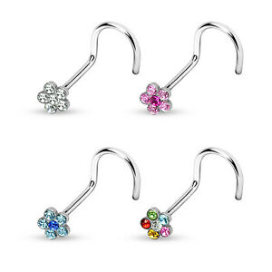 6-CZ-Gem-Flower-Surgical-Steel-Nose-Screw-Ring