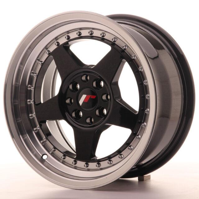 "Un Cerchio in Lega Japan Racing JR6 16/"" x 9/"" ET20 4 x 100 108 Nero Opaco"