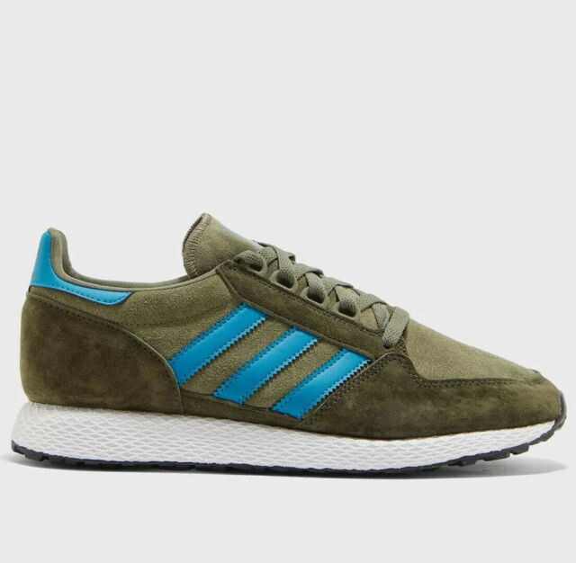 Adidas Originals Forest Grove Men's Retro Running Casual Shoes Raw Khaki
