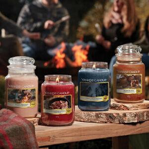 Yankee Candle Collezione CAMPFIRE NIGHTS Candela Profumata Giara Grande 150 ore