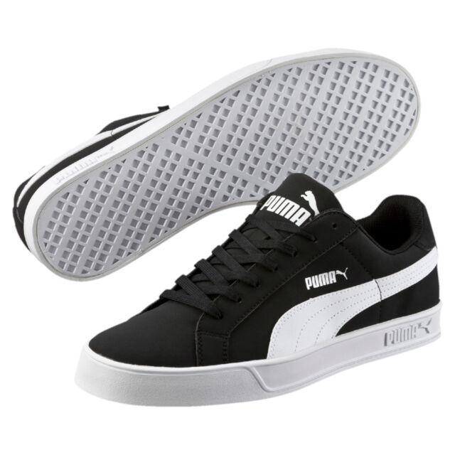 a5260699f1 PUMA Smash Vulc Herren Sneaker Kunstleder Gummisohle schwarz 11 ...