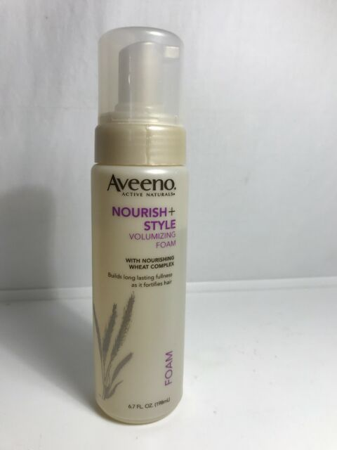 2 Aveeno Nourish Style Volumizing Foam For Sale Online Ebay