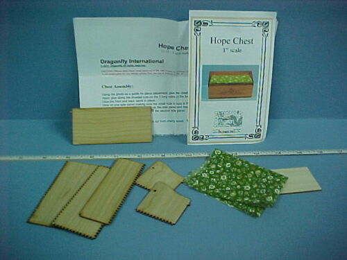 Miniature Hope Chest  Kit  #DF101 Dragonfly Int/'l