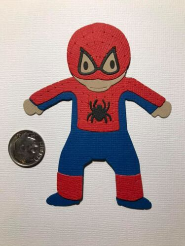 Scrapbook /& Card Making 1 Spiderman Premade PAPER Die Cuts