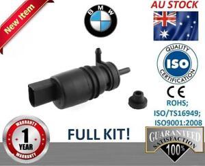 Windshield-Washer-Pump-BMW-E46-318i-320i-325i-328i-Front-rear-wiper-motor